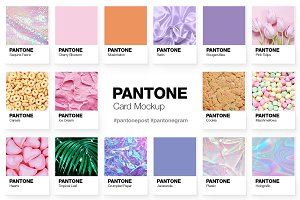 Pantone Color Cards Mockup