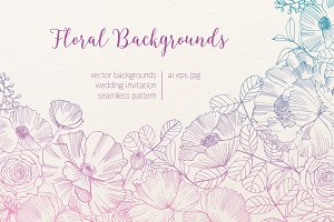 Floral backgrouns