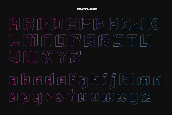 NF Gothic - Display Font