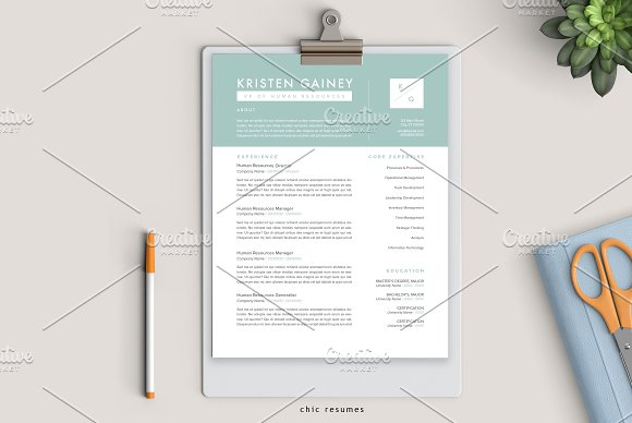 3-Page Modern Resume Template