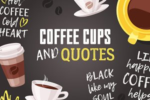 Coffee Cups and Quotes