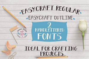 Easycraft 2 Fonts Regular - Outline