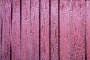 Pink wooden planks background