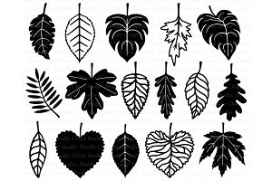 Leaf SVG, Leaves SVG files