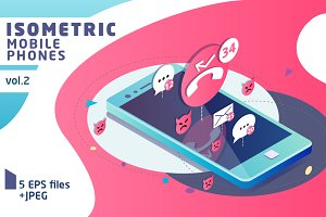 Isometric Mobile Phone Vol.2