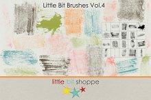 Little Bit Brushes Vol.4