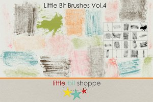 Little Bit Brushes Vol.4