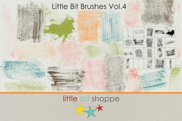 Little Bit Brushes Vol.4 - Brushes