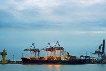 Sea Port in Odessa