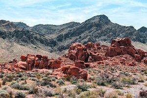 Landscape Of Rock Formations