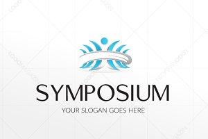 Symposium People Logo Template