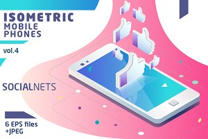 Isometric Mobile Phone Vol.4