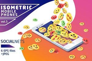 Isometric Mobile Phone Vol.5