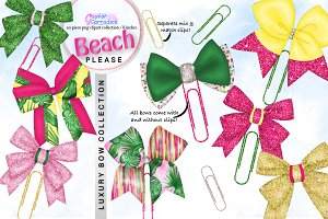 Beach Please Luxury Bow Collection