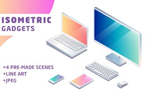 Set of Isometric Gadgets