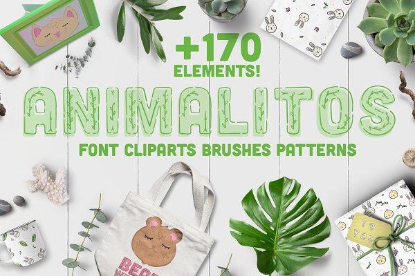 Animalitos BUNDLE! - +170 elements!