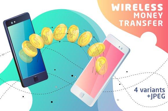 Wireless Money Transfer Ilrations