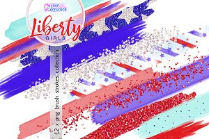 4th July Brushes Collection
