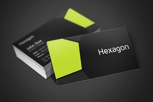 Hexagon Business Card