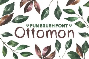 Ottomon Sans Serif Brush Font