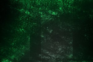 Black and green texture background