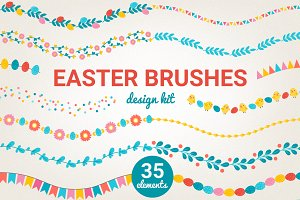 Easter brushes