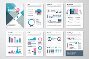Infographic Brochure Elements 15