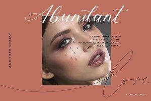 Abundant Script | Modern Calligraphy