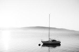 Photo Pack: Sailboat on Lake