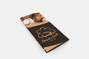Bread O'clock Trifold Template