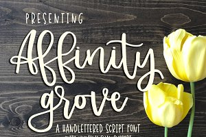 Affinity Grove Script