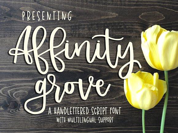 Affinity Grove Script