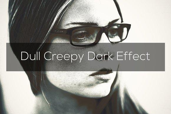 Dull Creepy Dark Effect