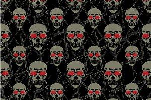 Skulls Motif Pattern