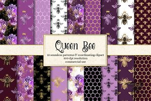 Queen Bee Patterns