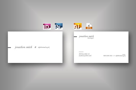 Cheri Business Card