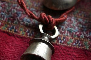 Bells on a rope