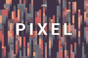 Pixel | Colorful Backgrounds | V. 02