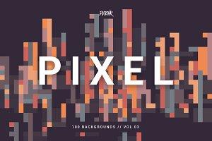 Pixel | Colorful Backgrounds | V. 03