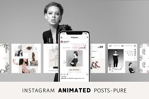 ANIMATED Instagram Pots – Pure