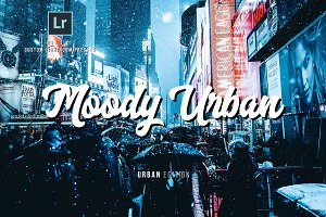 Moody Urban Lightroom Presets