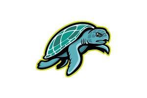 Ridley Sea Turtle Mascot