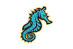 Seahorse Mascot