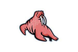 Long-tusked Walrus Mascot