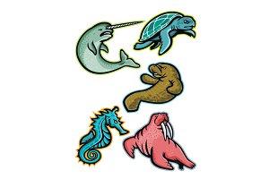 Aquatic Animals and Marine Mammals C