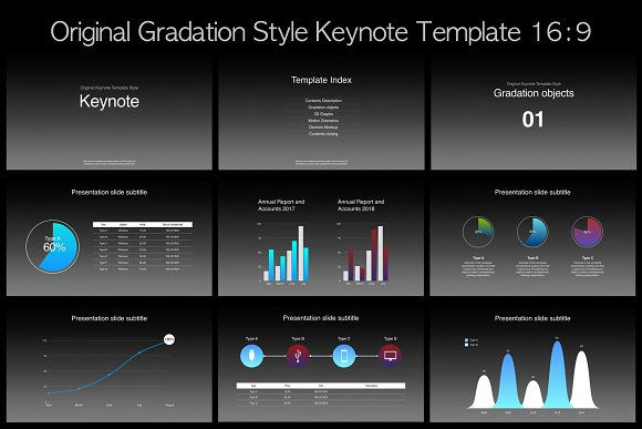 Apple Keynote Template