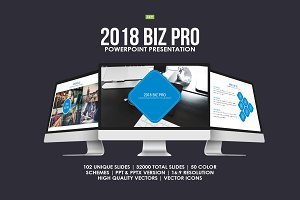 2018 Biz Pro Powerpoint Template