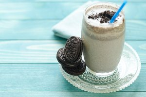Milkshake (chocolate smoothie)