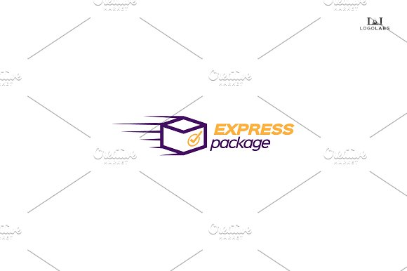 Express Package logo ~ Logo Templates on Creative Market