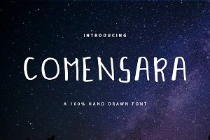 Comensara Font For Book and Poem